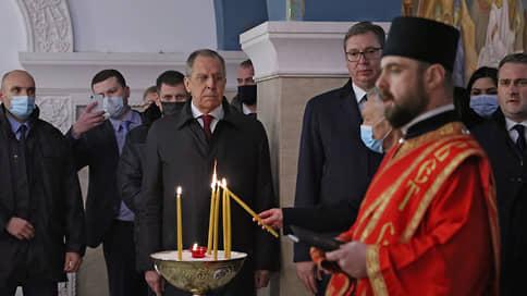 Сергея Лаврова приняли близко к сербству // Главу МИД РФ по-разному встречали на Балканах