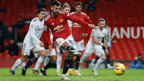 «Манчестер Юнайтед» вспомнил прошлое // Беспроигрышная серия вплотную приблизила его к лидерству