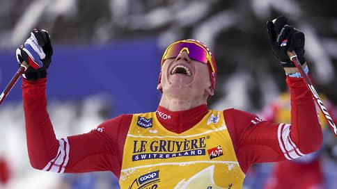 Большая прогулка Александра Большунова // Он выиграл второй Tour de Ski подряд