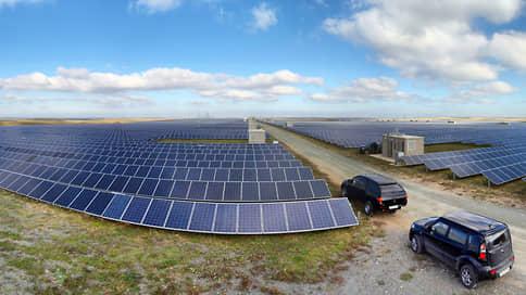 Правительство сэкономит на зеленой энергии // Минэнерго просит снизить финансирование новых ВИЭ на треть