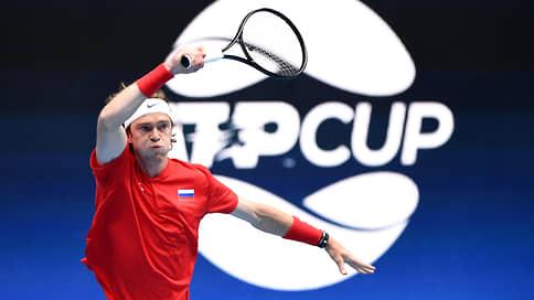 Одиночки сыграли на выход // Сборная России пробилась в полуфинал ATP Cup
