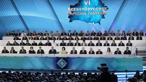 Сам себя избирал, сам себя и уйду // Александр Лукашенко решил смениться когда-нибудь не сейчас