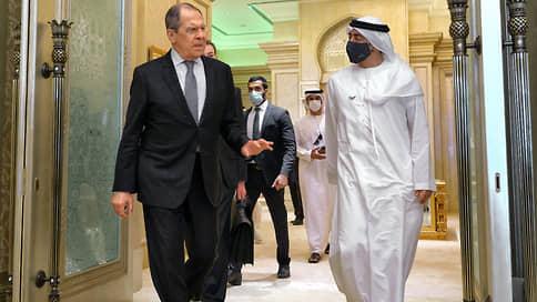 В ОАЭ Сергея Лаврова ожидал даже Ливан // Турне главы МИД РФ по странам Залива началось крайне удачно