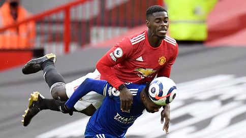«Манчестер Юнайтед» сыграл по-соседски // Его поражение обеспечило чемпионский титул «Манчестер Сити»