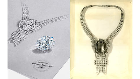 Tiffany приобрели 80-каратный бриллиант для колье 1939 года