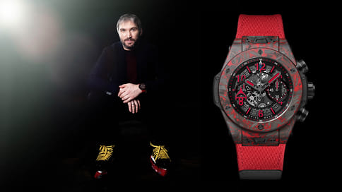 В бутики Mercury поступили часы Hublot Big Bang Unico Red Carbon Alex Ovechkin