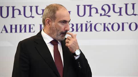 Пашинян отказался уходить в отставку без волеизъявления народа