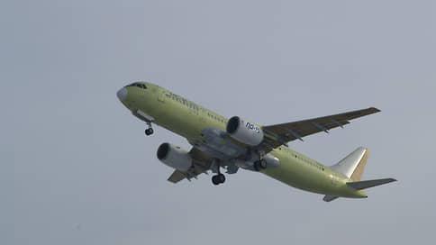 Самолет МС-21 совершил первый полет с российскими двигателями
