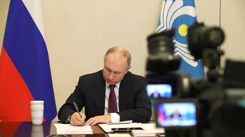 Путин заявил о скором появлении новых российских вакцин от COVID-19