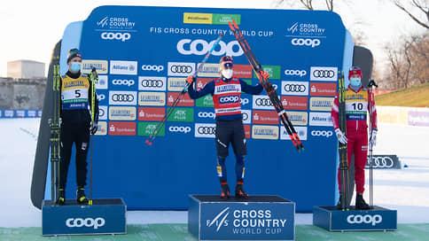 Лыжник Ретивых стал третьим в спринте на этапе Кубка мира