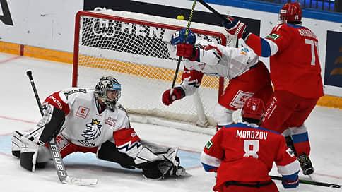 Россия победила Чехию в матче Кубка «Первого канала»