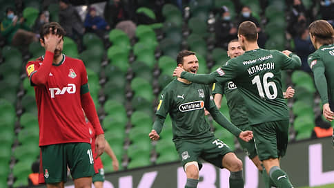 «Краснодар» разгромил «Локомотив» в матче РПЛ