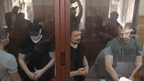 Четверо обвиняемых по делу Голунова экс-полицейских не признали вину