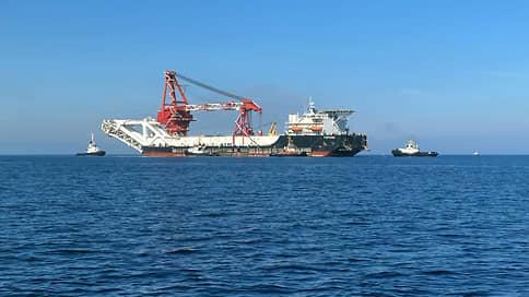 «Фортуна» начнет строительство «Северного потока-2» в водах Дании 15 января