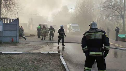 В подмосковных Мытищах при пожаре погибли пять человек