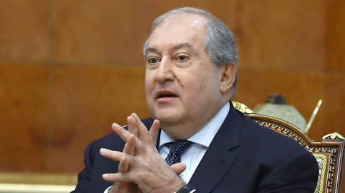 Президент Армении Саркисян заразился коронавирусом в Лондоне