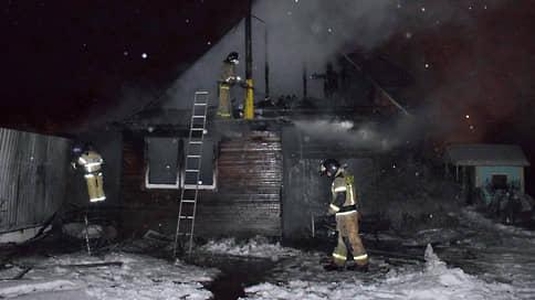 В сгоревшем в Тюменской области здании находился частный дом престарелых