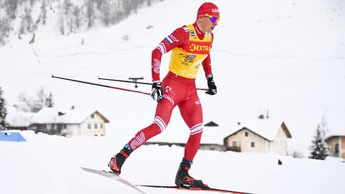 Большунов занял второе место в спринте на этапе Tour de Ski в Швейцарии