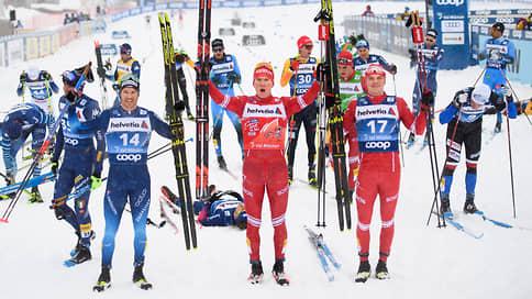 Большунов выиграл масс-старт на этапе «Тур де Ски» в Швейцарии