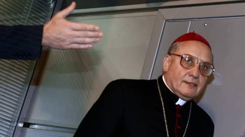 Папа римский принял отставку главы белорусских католиков