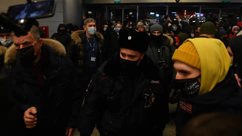Во Внуково задержали сторонников Навального
