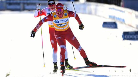 Большунов победил в гонке с раздельным стартом на этапе Кубка мира