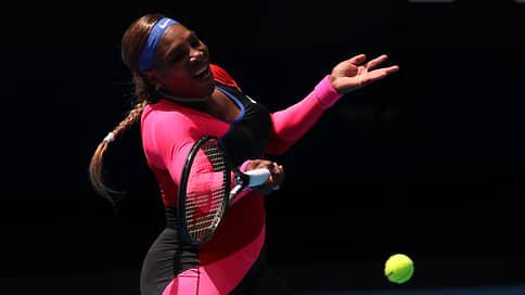 Серена Уильямс вышла в 1/4 финала Australian Open