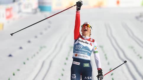 Норвежская лыжница Йохауг выиграла масс-старт на чемпионате мира