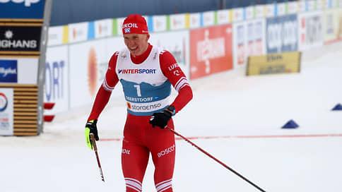 Большунов занял третье место в лыжном марафоне на ЧМ