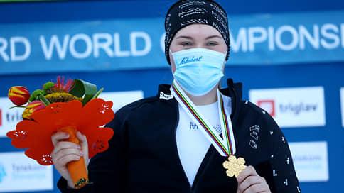 Российская сноубордистка Надыршина взяла золото в параллельном слаломе на ЧМ
