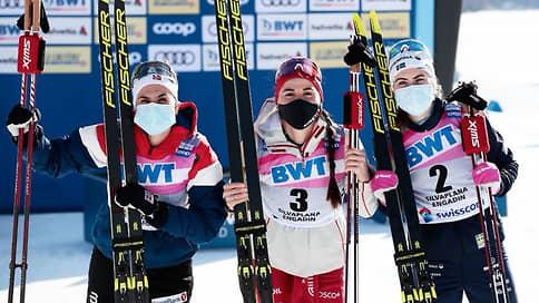 Россиянка Ступак взяла бронзу в гонке преследования на этапе Кубка мира