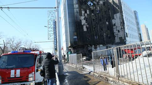 В Самаре загорелся крупнейший торгово-офисный центр «Скала»