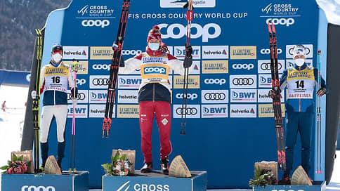 Большунов победил в масс-старте Кубка мира