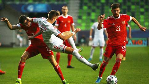 Молодежная сборная России по футболу не вышла в play-off чемпионата Европы
