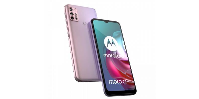 Представлены смартфоны Moto G30 и Moto G10