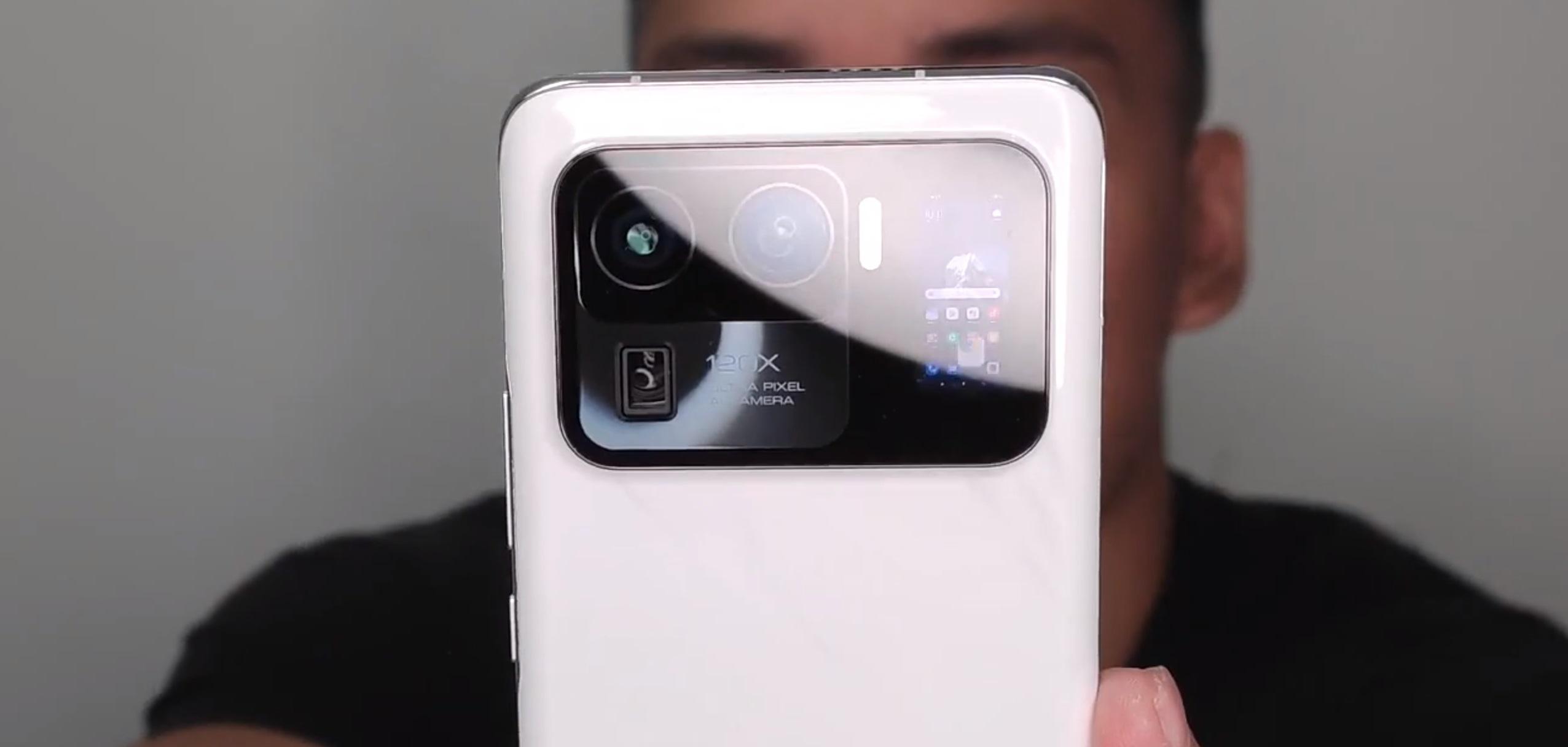 Таким будет Xiaomi Mi 11 Ultra — с экраном в камере