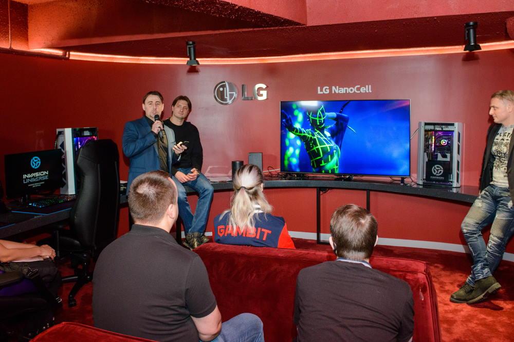 LG представила в Москве мониторы и телевизоры для геймеров