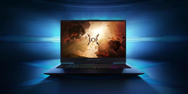 В России появился игровой ноутбук Honor Hunter V700 за 159 900 рублей