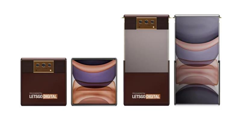 OPPO и Том Форд создали концепт кожаного смартфона, который увеличивается в длину