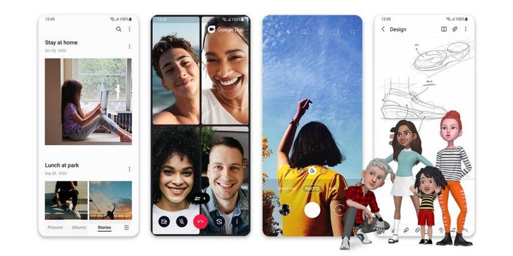 Samsung представила оболочку One UI 3