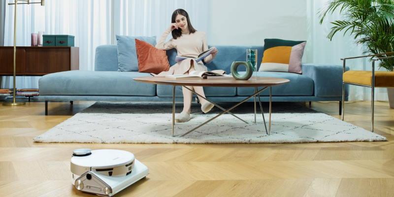 CES 2021: интеллектуальные роботы-пылесосы и стиральные машины Samsung