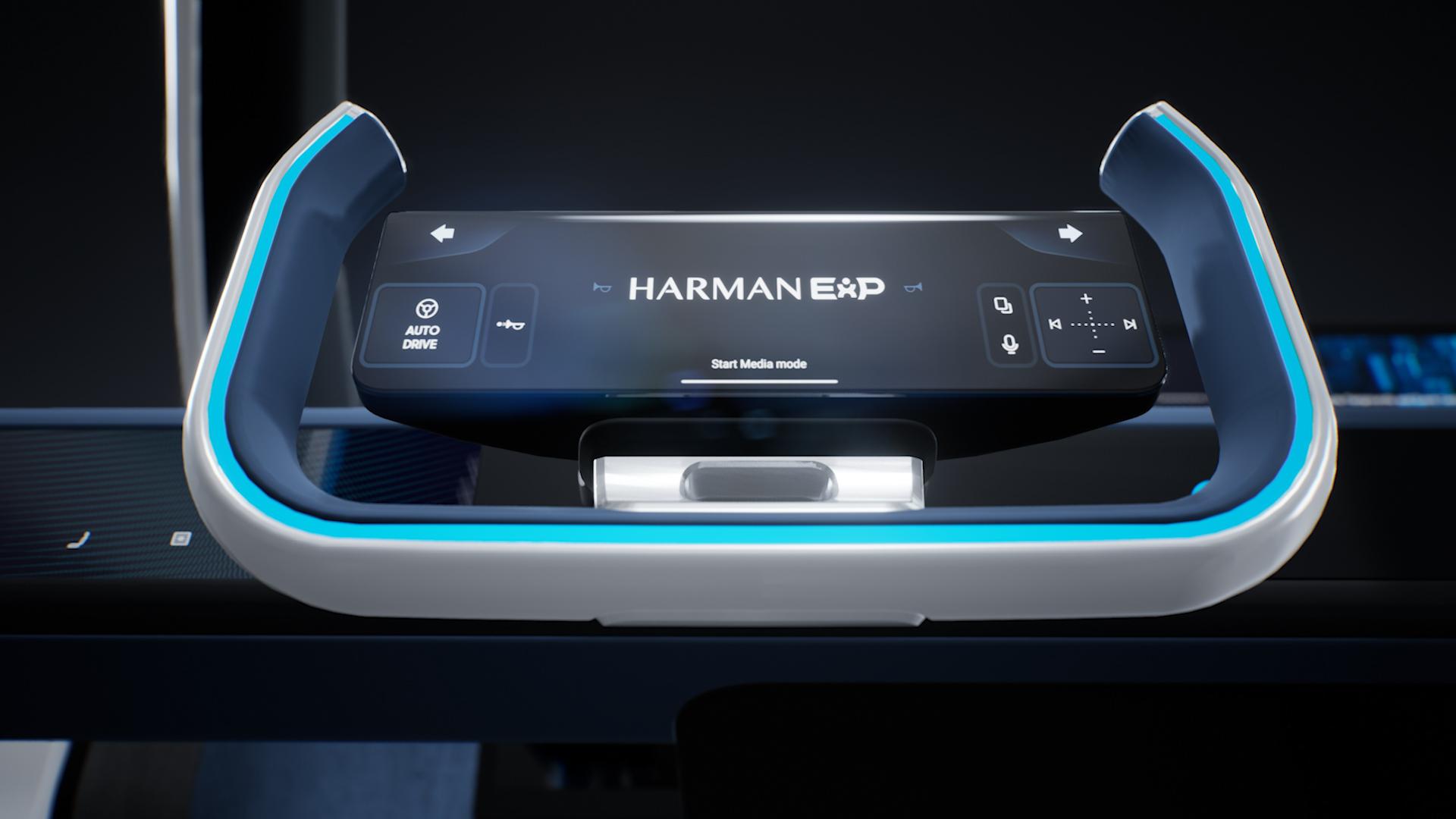 Автомобиль будущего от Harman — в нём можно играть, вести блог и давать концерты