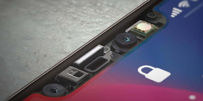Apple улучшит Face ID тепловой картой лица. Что это такое?