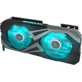 Видеокарта KFA2 GeForce RTX 3060 Ti X Black (8 ГБ): умеренно шумная СО, чуть повышенные частоты