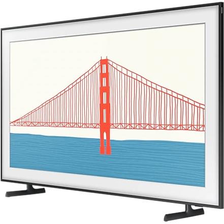 """Телевизор Samsung 55"""" QLED The Frame TV 2021: аккуратный дизайн, сменные рамки, режимы Ambient и Картина, пульт ДУ на солнечной батарее"""