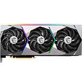 Видеокарта MSI GeForce RTX 3090 Suprim X 24G (24 ГБ): огромные размеры, эффективная СО, красивая подсветка и подставка-штатив в комплекте