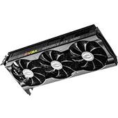 Видеокарта EVGA GeForce RTX 3080 XC3 Ultra Gaming (10 ГБ): стандартные размеры, минимальная подсветка, шумная СО
