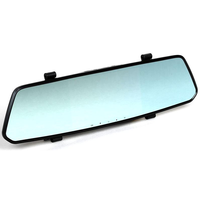 Автомобильный видеорегистратор Digma FreeDrive 214 Night FHD: форм-фактор зеркала заднего вида и дополнительная камера