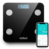Напольные весы Kitfort KT-805: покажут историю тела