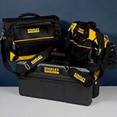 Видеообзор сумок для инструментов Stanley Fatmax: ящик для инструмента и стремянка, сумки для хранения и транспортировки